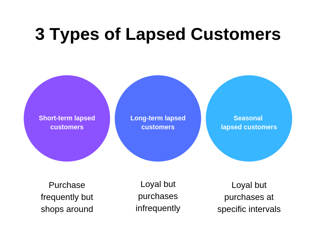 3 Types of Lapsed Customers