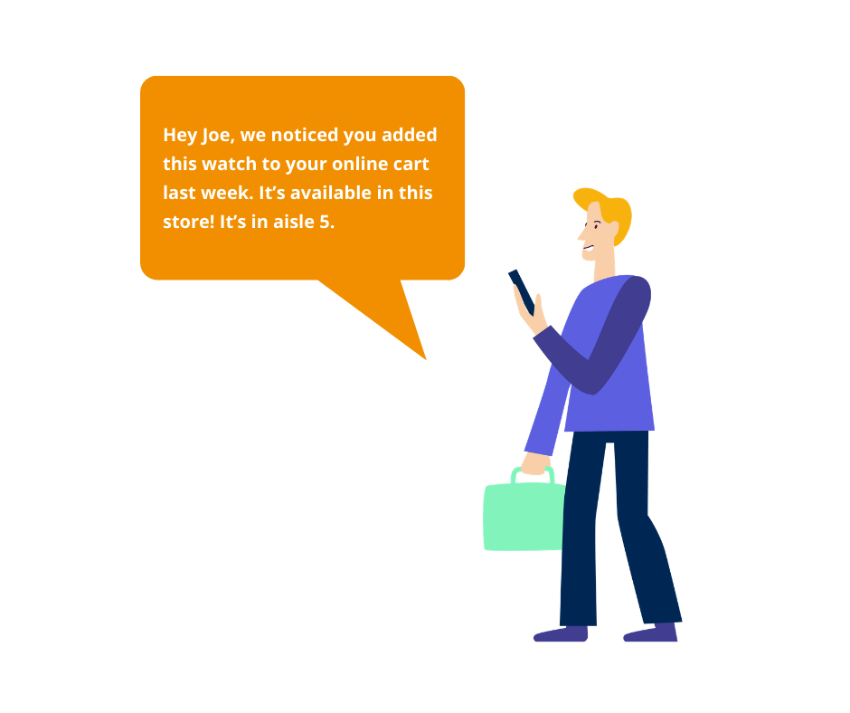 Beacon Marketing sales support message