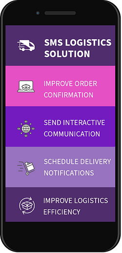 sms logistics solution voicesage