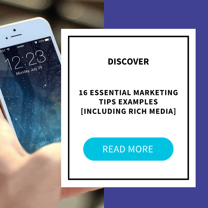 rmm examples rich media in sms