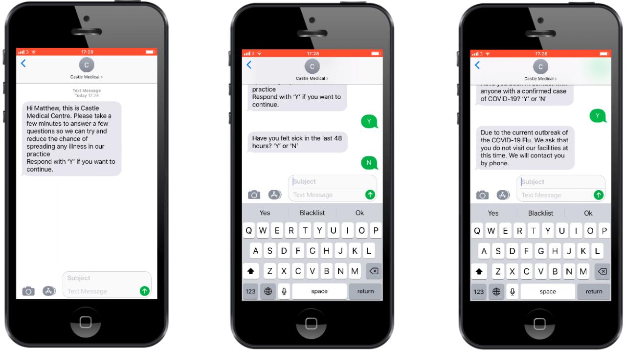 Patient Triage SMS
