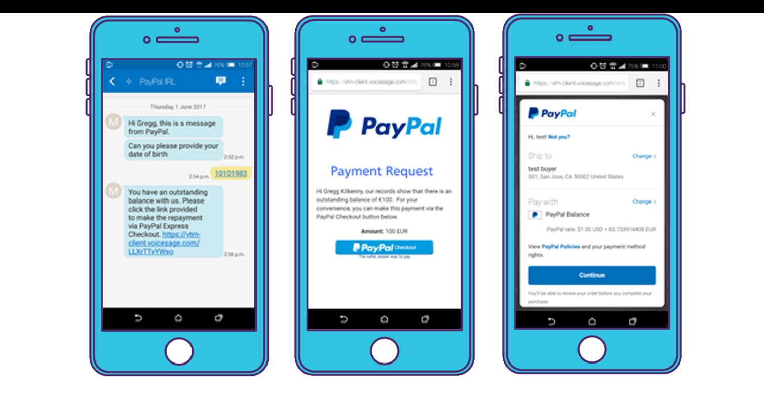 PayPal Rich Media Messaging - RCS