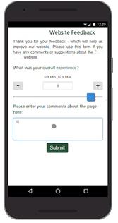 automate retail customer journey Customer Survey Screenshot