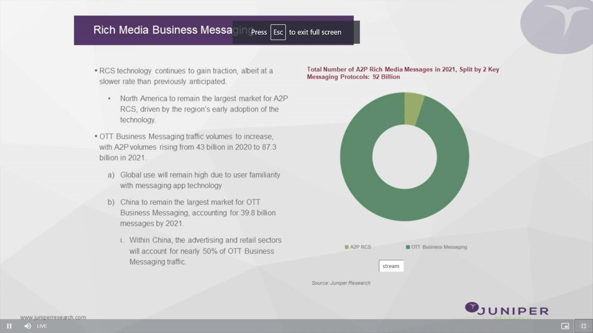 MEF Connect Rich Communications info