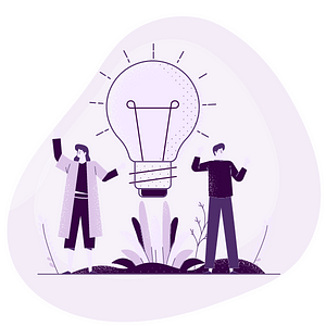 light bulb marketing people