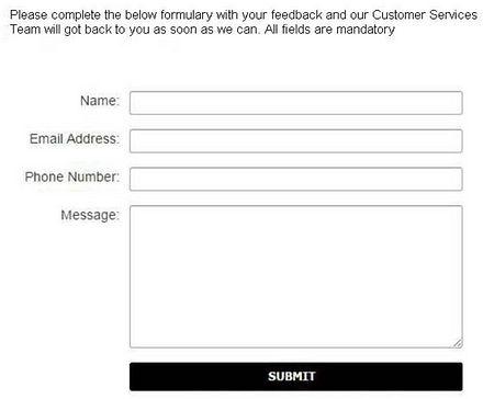 collect phone numbers with contact forms