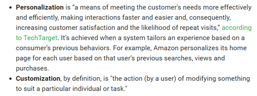 hyper=personalization definition