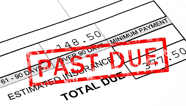 past due debt collection