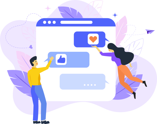 customer engagement messaging