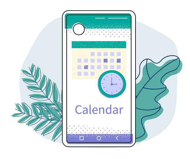 Rich Media Messaging Calendar