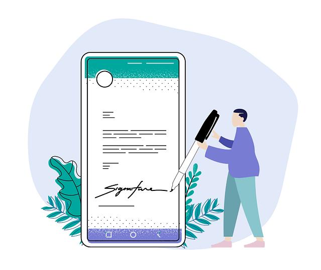 Rich Media Messaging Signatures