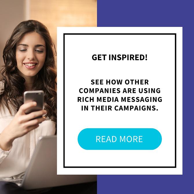 add rich media in sms ebook