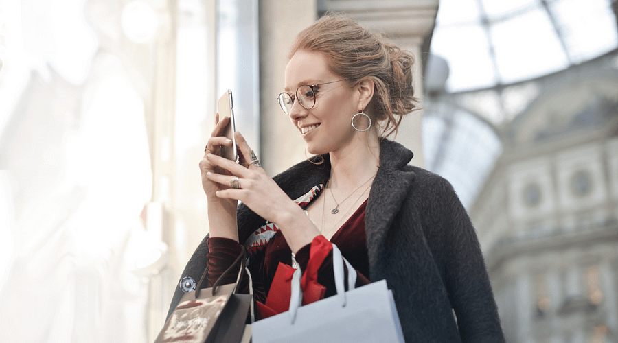 Customer Receiving SMS