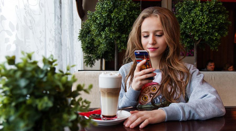 Customer Browsing Mobile