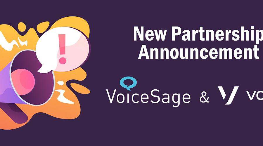 vonage partners with voicesage