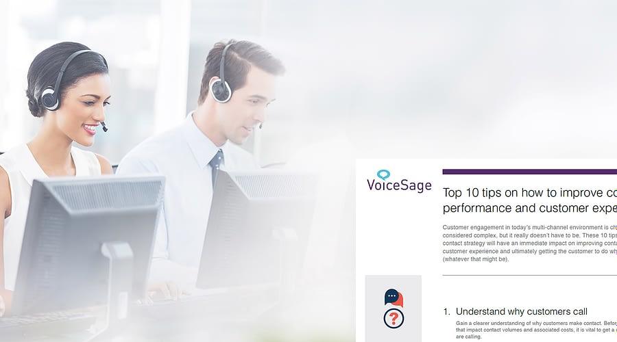 contact centre performance voicesage